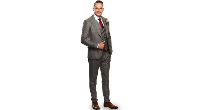 Steven Burley, MAFS 2020 groom. Image: Channel Nine