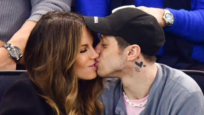 Ariana Grande's ex-fiance and comedian Pete Davidson, 25, is now dating Kate. He recently defended their 20-year age gap.
