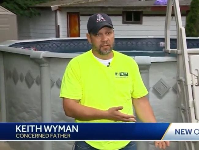 Father Keith Wyman is non spreading awareness. Picture: WCVB