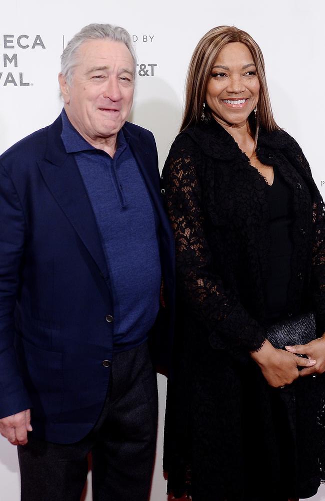 Robert De Niro divorce...