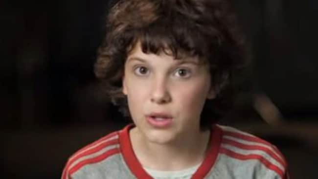 Millie Bobby Brown rose to fame as Eleven in Stranger Things. Picture: Supplied Source:Supplied