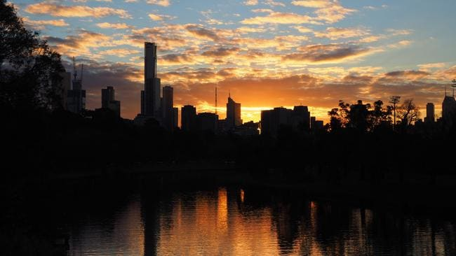 The sun appears to have well and truly set on Melbourne's last home price boom.