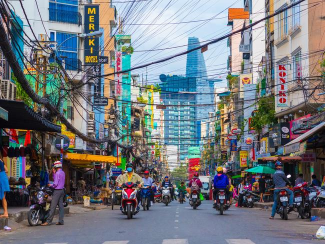 Emerging favourite Vietnam made it to the list of destinations with the highest risk of crime. Picture: iStock