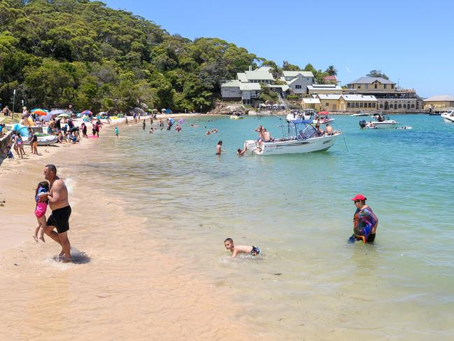 Clifton Gardens beach is popular all year round.