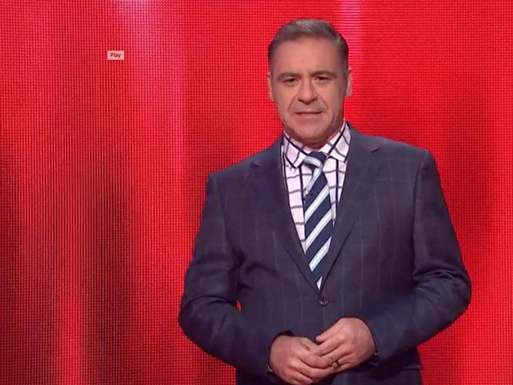 Andrew O'Keefe hosting The Chase. Picture: Channel 7