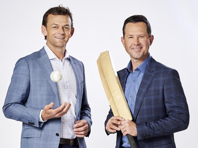 Ricky Ponting and Adam Gilchrist - Big Bash League, Channel 10. For Hit.TV only.