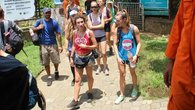 Authorities evacuated hundreds of foreign tourists from the national park.
