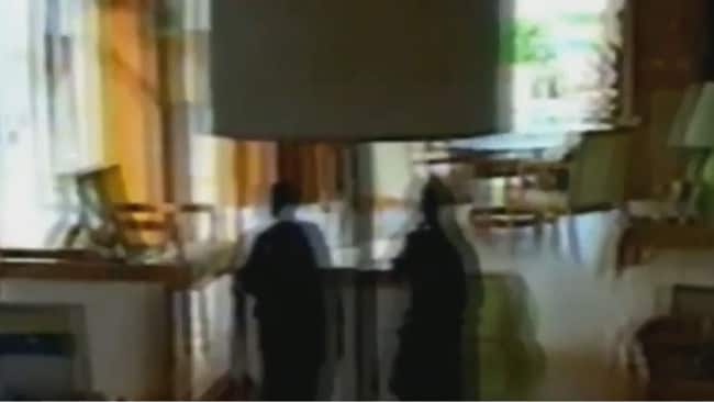 Armed police entered the home during the 2005 raid.