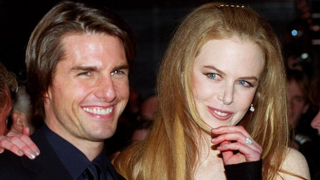 Hollywood's '90s golden couple: Tom Cruise and Nicole Kidman in 1999.