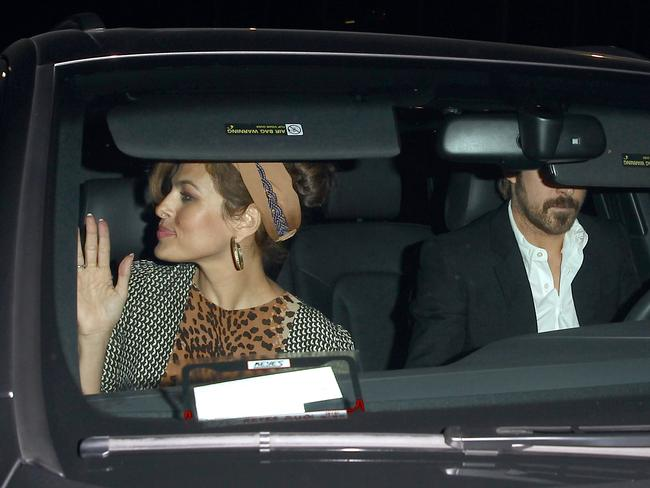 Private ... Ryan Gosling and Eva Mendes have kept their relationship largely under wraps since they began dating in 2011. Picture: Splash News