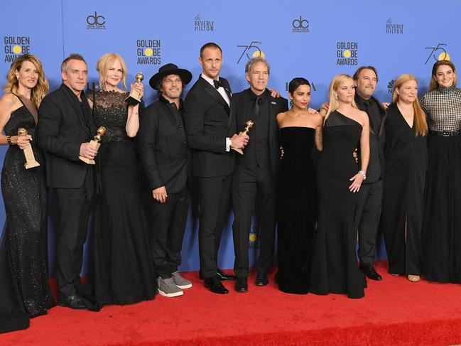 Big Little Lies swept the Golden Globes in 2019. Picture: Getty Images