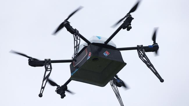 Domino's Pizza, in partnership with Flirtey, will launch pizza deliveries by drone in early 2017.