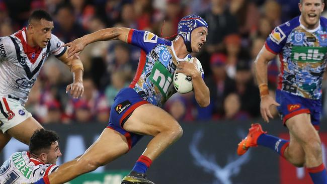 Kalyn Ponga has become an NRL superstar. Picture: Brett Costello