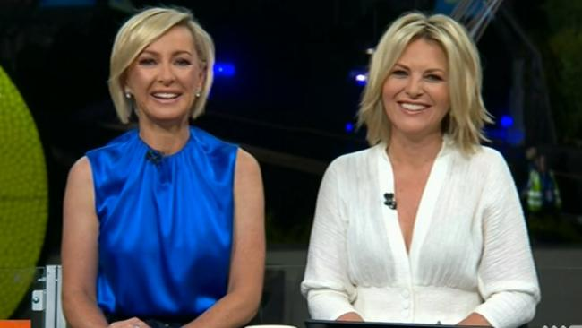 Deb Knight and Georgie Gardner.