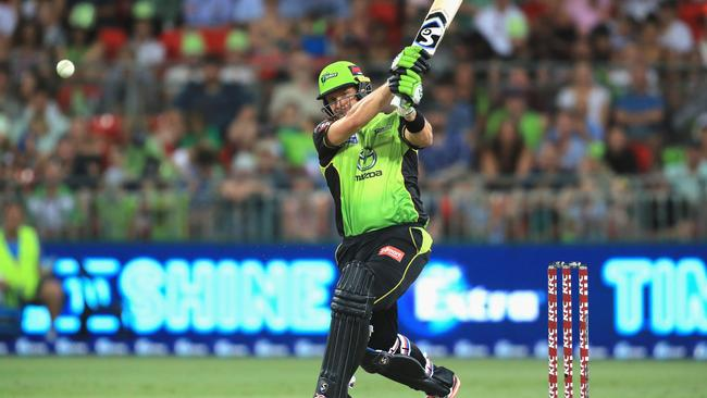 Shane Watson was unable to guide Sydney Thunder home.
