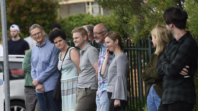 First-home buyers traditionally compete with investors in the more affordable price brackets in Geelong. Picture: Alan Barber