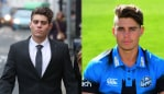 Text messages revealed 23-year-old cricketer Alex Hepburn bragged about 'dragging' women home and 'raping' them