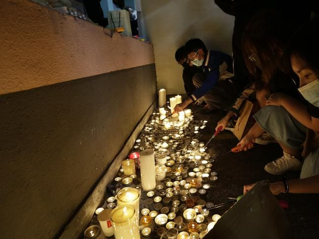 Candlelit vigils have broken out in a fresh wave of violence. Picture: AP