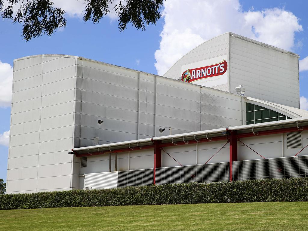 Arnott's will likely be forced to lease its own factories. Picture: Justin Lloyd