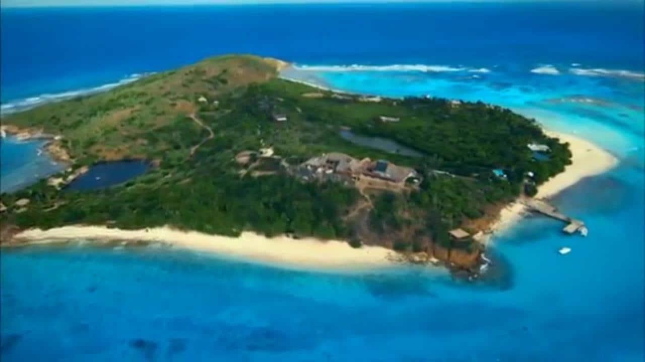 Obamas Holiday On Richard Branson Privat Caribien-6537