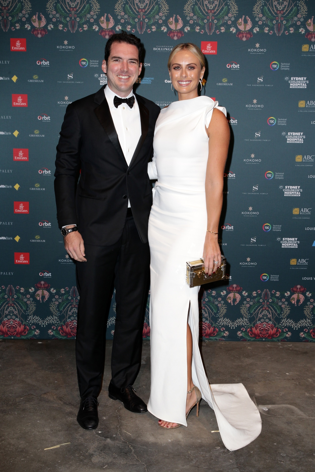 Peter Stefanovic and Sylvia Jeffreys attend The Gold Dinner fundraiser. Image credit: Supplied