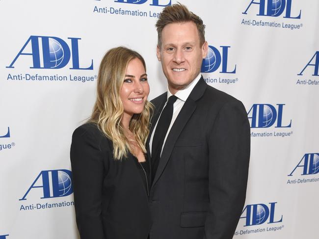 Meghan's ex-husband is now engaged to Tracey Kurland. Picture: Michael Kovac/Getty Images