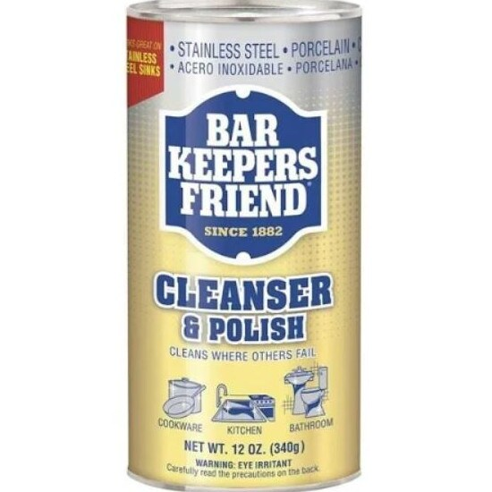 Bar Keepers Friend (pictured) is proving so popular, some have said they can't find it in their local supermarket. Picture: Supplied