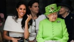 Meghan Markle and The Queen are basically BFFS. Photo: Getty