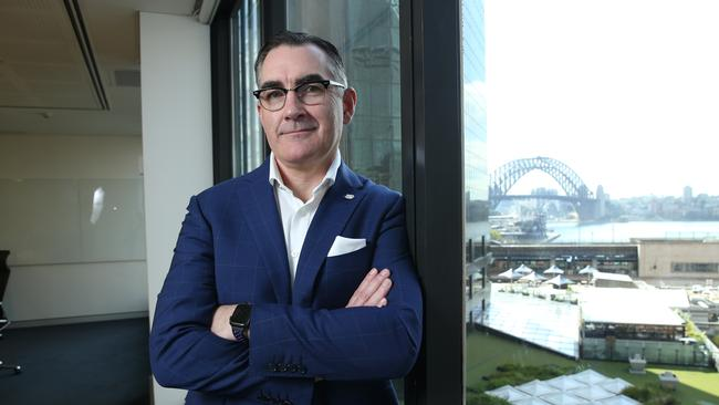 Virgin Australia CEO Paul Scurrah acknowledged the airline had a problem at the 'cost' level. Picture: Britta Campion / The Australian