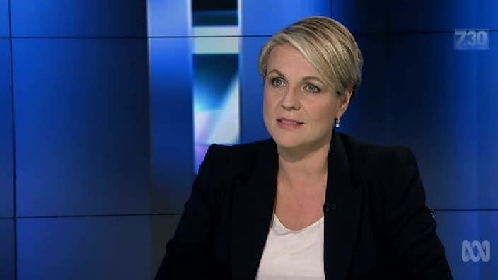 "Tanya Plibersek: ""We want alliance and not compliance"""