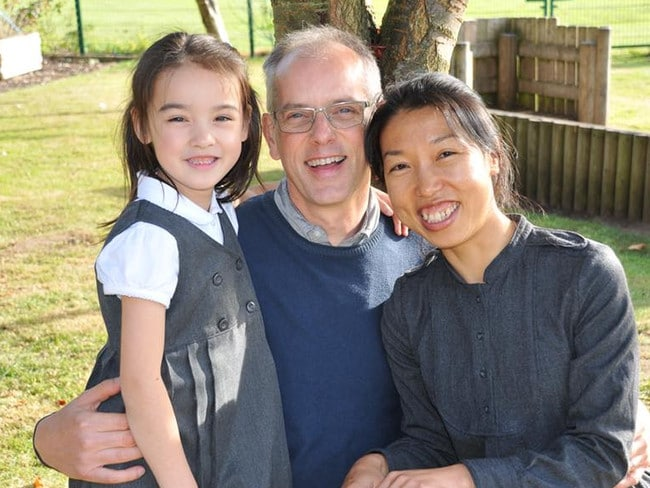 Jeff Siddle with his wife Sindy and daughter Jasmine. Jeff and Jasmine hold UK citizenship but Sindy does not and is therefore not eligible for repatriation. Picture: Sindy Siddle/Facebook