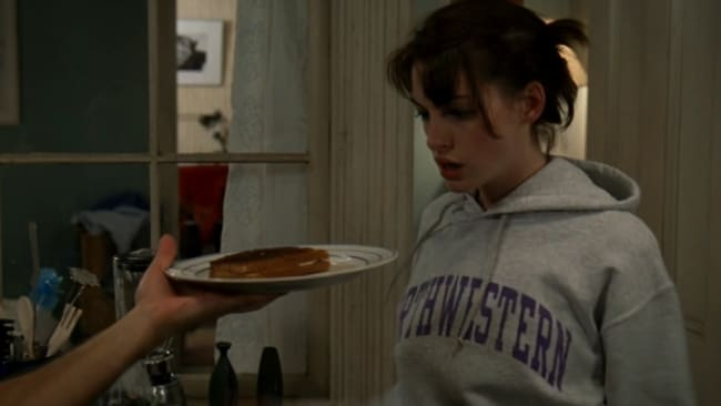 This grilled cheese doesn't make up for anything, mate. Photo: 'The Devil Wears Prada'
