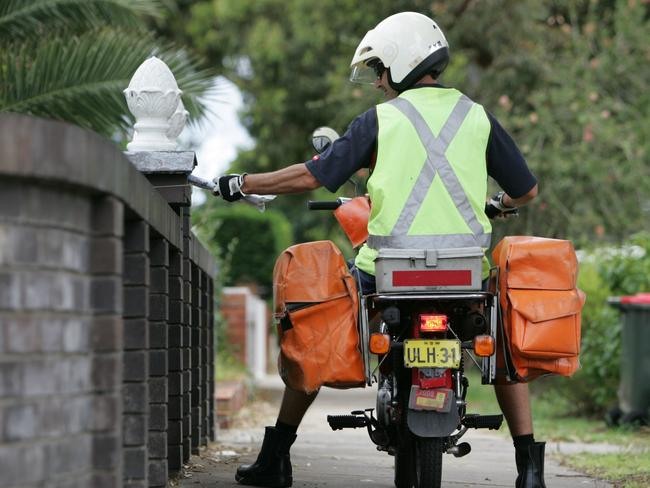 If the postie doesn't catch you at home, prepare to pay.