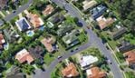 Generic photo of Australian suburban houses / suburbia