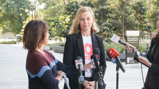 Institute director Sarah Maguire at today's launch. Image: Supplied.