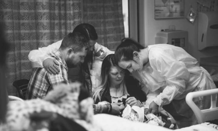 NICU nurse on her grief at watching parents say goodbye to their babies