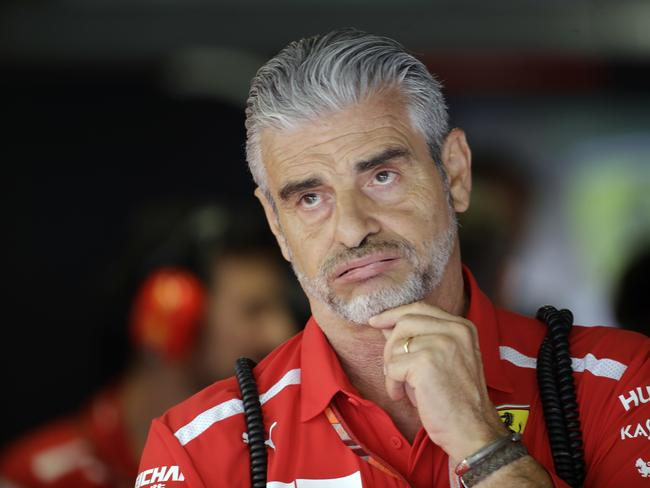 Maurizio Arrivabene is out at Ferrari.