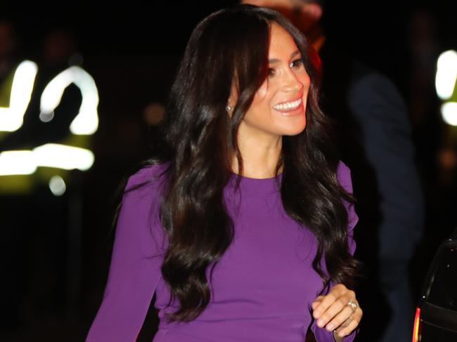 Meghan stepped out in London. Picture: Getty Images