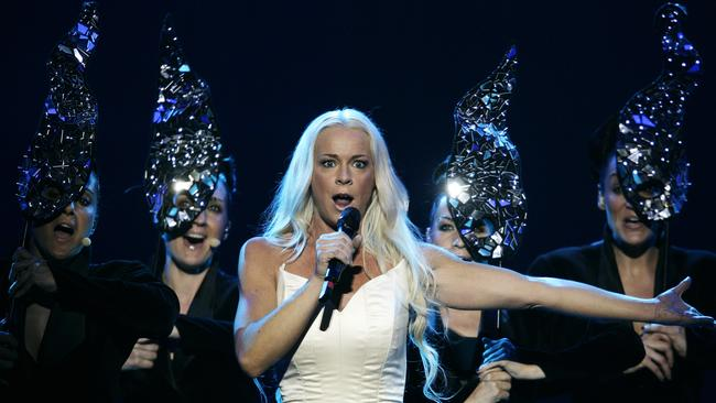 The singer finished 21st. Picture: Oleg Nikishin/Epsilon/Getty Images