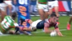 Kyle Flanagan finished off a key try.