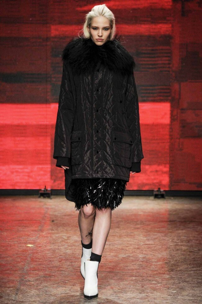 DKNY ready-to-wear autumn/winter '14/'15