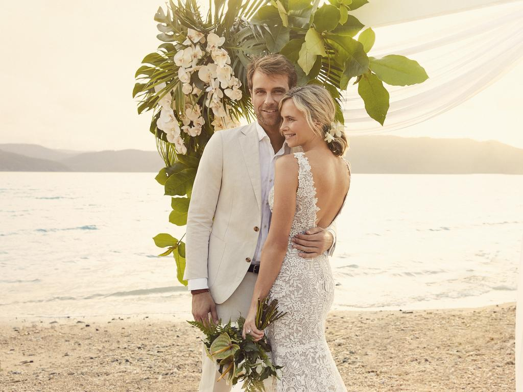 Daydream Island's Alaa Armanyous said they have had a surge in Spring wedding bookings with 13 locked in just for September and October. Picture: Daydream Island