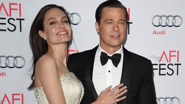 Brangelina ended up married — but announced their split in 2016. Picture: AFP Photo/Mark Ralston