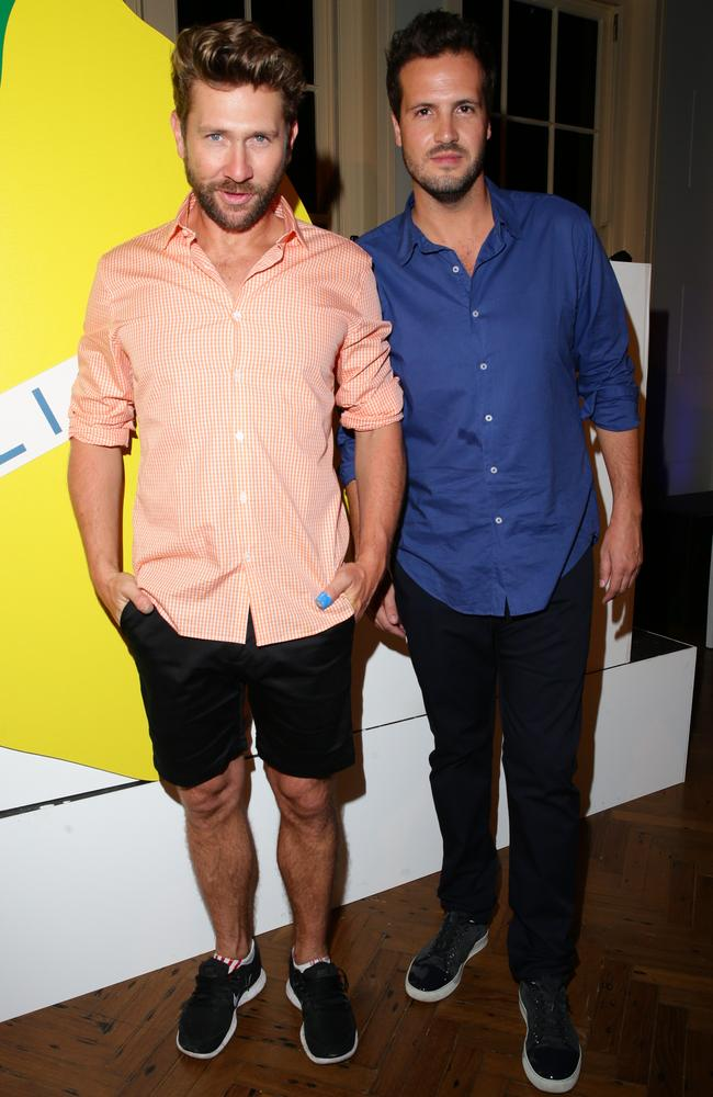 Daimon Downey and Tim Holmes a Court at the 2013 Vogue Fashion's Night Out.