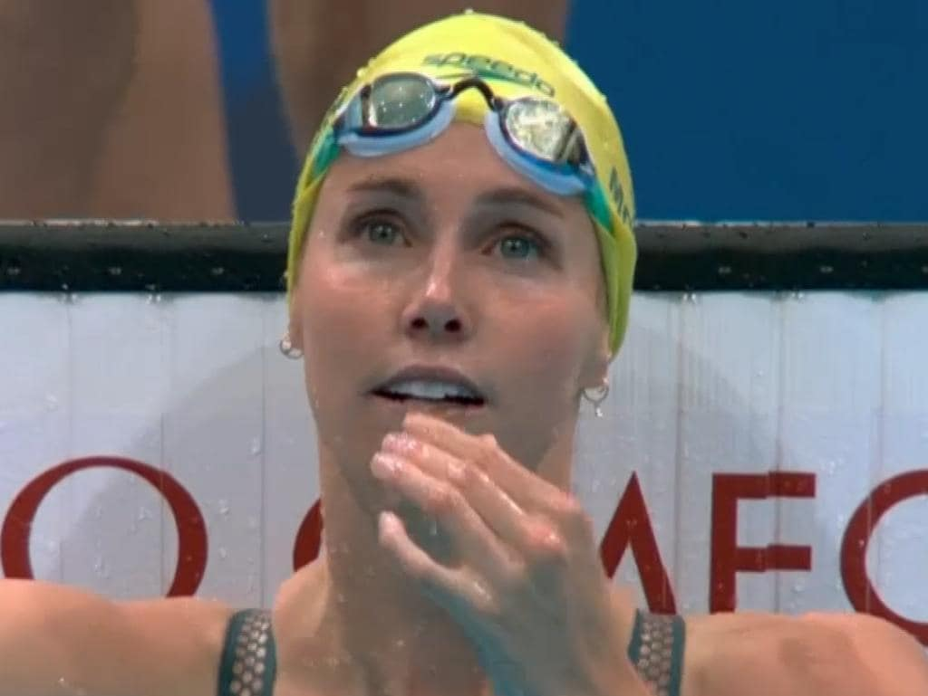 Emma McKeon set an Olympic record in the heats.