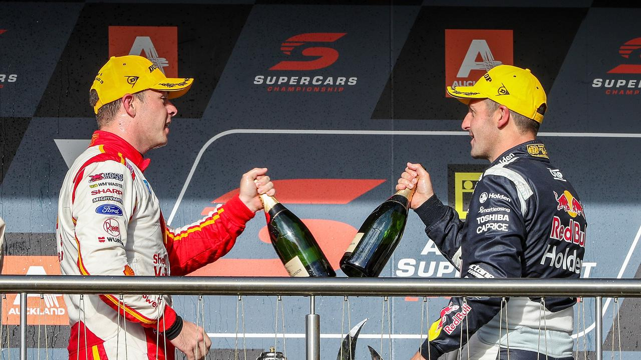 Scott McLaughlin is favourite for 2019, according to Jamie Whincup.
