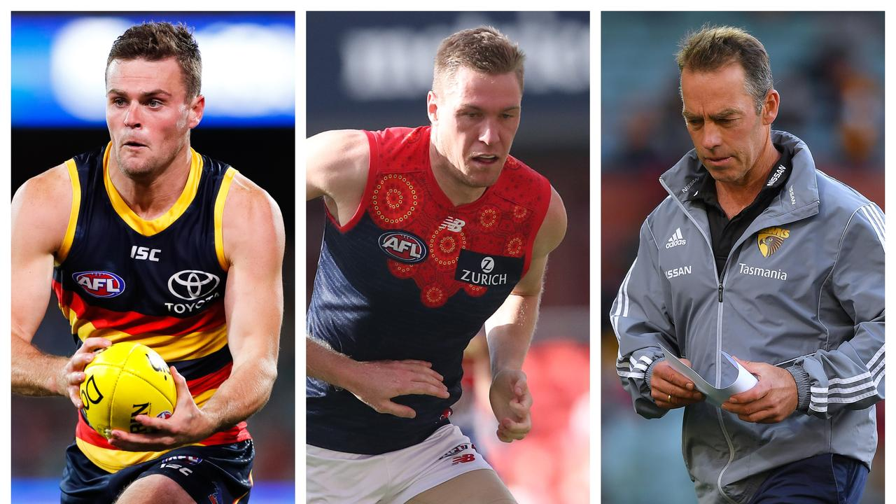 Trade Whispers: Brad Crouch, Tom McDonald and Alastair Clarkson.