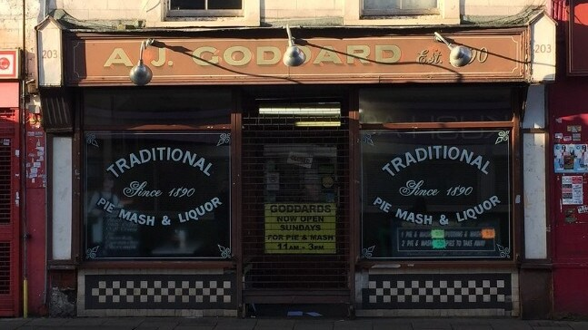 AJ Goddard's Pie and Mash is closing down after 128 years — because of vegans. Picture: TripAdvisor