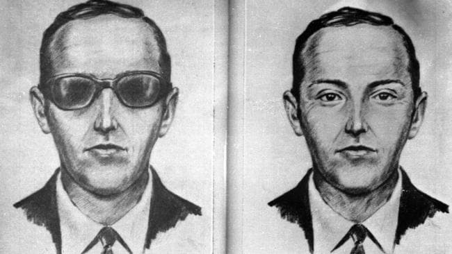 The mysterious figure known as DB Cooper pulled off the only unsolved skyjacking in American history. Picture: AP/FBI
