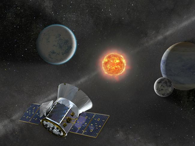 Once in orbit, TESS will spend about two years surveying 200,000 of the brightest stars near the sun to search for planets outside our solar system. Picture: AFP